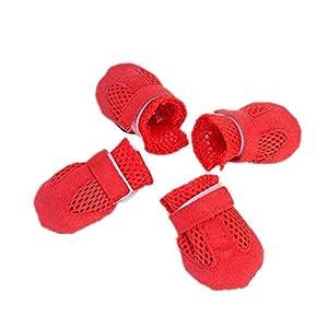 SAMGU Animal Pet Chaussons Respirante Chaussures Chien Bottes Protection Animalerie Chien Accessoires