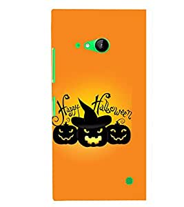 TOUCHNER (TN) Halloween Back Case Cover for Nokia Lumia 730::Microsoft Lumia 730::Microsoft Lumia 735