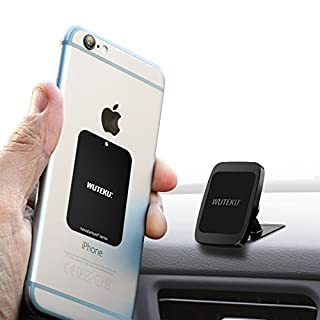 WUTEKU Magnetic Cell Phone Holder Kit For Car | Works on All Vehicles, Phones & Tablets | Best Lightweight Dashboard Mount | iPhone XR, XS, X, 8, 7 & Galaxy S9, S8 by Uber Driver …