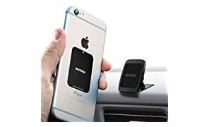 WUTEKU Magnetic Cell Phone Holder Kit For Car | Works on All Vehicles, Phones & Tablets | Best Lightweight Dashboard Mount | iPhone X, 8, 7 & Galaxy S9, S8 by Uber Driver …