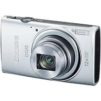 Canon IXUS 265 HSCompact Digital Camera - Silver (16MP, 12x Optical Zoom, 24x ZoomPlus, Wifi, NFC) 3inch LCD