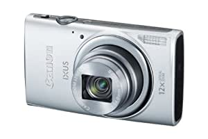Canon IXUS 265 HSCompact Digital Camera - Silver (16MP, 12x Optical Zoom, 24x ZoomPlus, Wifi, NFC) 3inch LCD