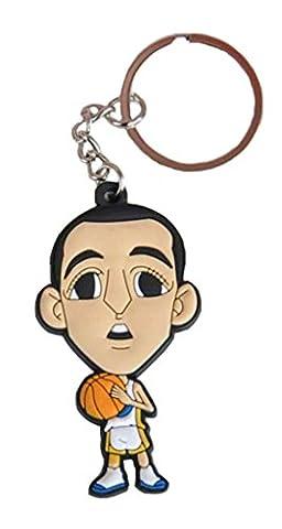 novogifts en caoutchouc pro NBA Basketball Player Mini Poupée Porte Clé, Curry