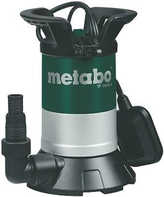 Metabo 251300000 Klarwass.-Tauchpumpe TP13000S, 550W, 230Volt, 50Hz