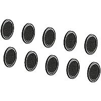 gedotec Puerta de entlüfter perforadas Muebles de rejilla ventilación rejilla de ventilación redonda–h3609