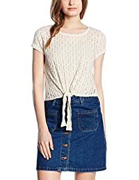 ONLY Women's Onldestroyed Knot S/s Top Jrs T-Shirt