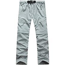 Pantalones Deportivos Hombre Largos ♚ Absolute Pantalones Desmontables Pantalones de Escalada Hombre Pantalones de Secado rápido