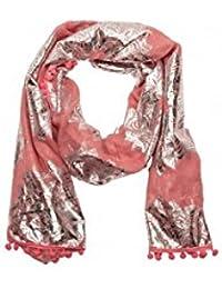 Foulard Lollipops Rose ZRINT Imprimé Rosaces 17063958 MAHOGANY ROSE