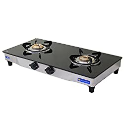 Sinora Hotline Hazel Deluxe Glass Top 2 burner Auto Ignition Gas Stove.
