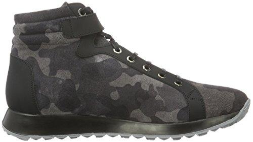 Karl Lagerfeld Sneaker-Herren, Baskets Basses Homme Gris - Grau (Antrazit 80)