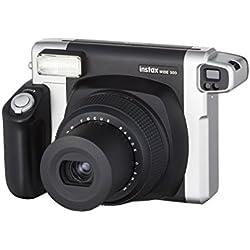 Fujifilm Instax Party Pack - Appareil Photo Instantané Instax Wide 300 Noir + Kit d'Accessoires