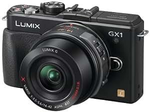 Panasonic Lumix DMC-GX1XEF-K Appareil photo numérique Reflex 16 Mpix 14-42 mm Power Zoom Noir