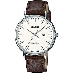 Casio Femmes Analogique Quartz Montre avec Bracelet en Cuir LTH-1060L-7AER