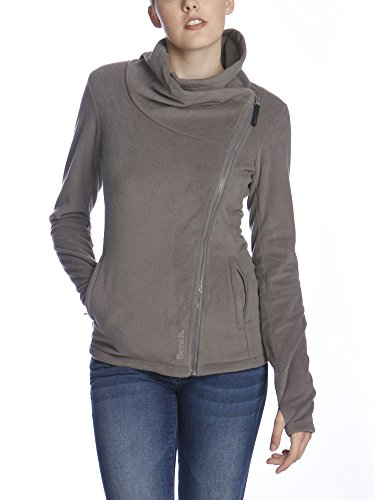 Bench Damen Strickjacke RISKRUNNER B, Gr. Medium, Grau (Dark Grey GY149)