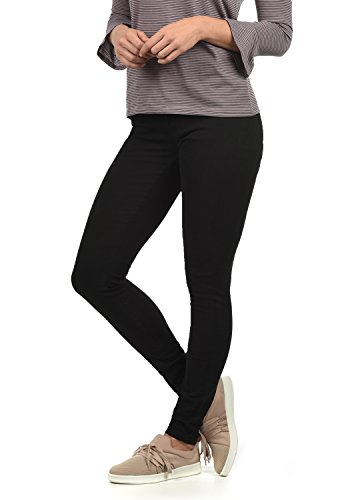 ONLY Lara Super Stretch Damen Jeans Denim Hose Röhrenjeans Aus Stretch-Material Skinny Fit, Farbe:Black, Größe:L/ L30 -
