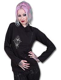 Spiral Hoodie Women's - In Goth We Trust D055G404 S