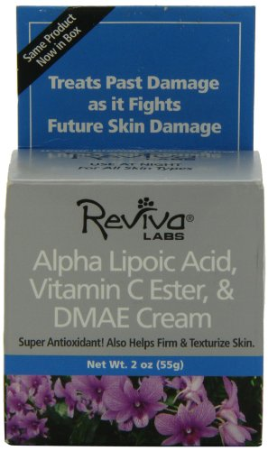 Reviva Labs, Alpha Lipoic Acid, Vitamin C Ester & DMAE Cream, 2 oz (55 g)