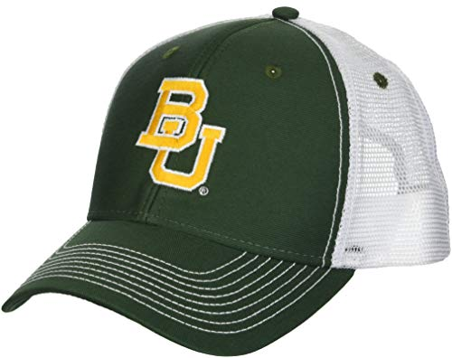 Ouray Sportswear Herren Cap NCAA Baylor Bears Sideline, Sideline Cap, Dark Hunter/White, Einstellbar -