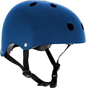 SFR Skate/Scooter/BMX Helmet - Metallic Blue S-M (53cm-56cm)