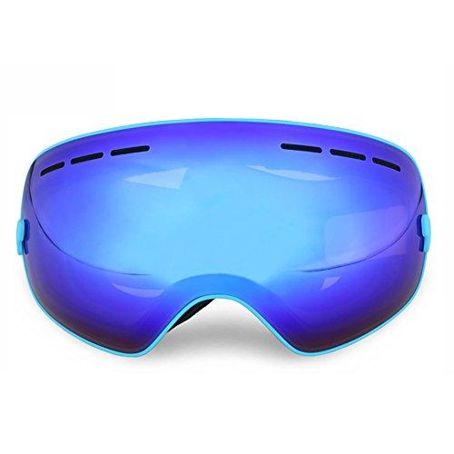 SHEEN KELLY Skibrille Snowboard Brille Doppel-Objektiv UV-Schutz Anti-Fog Skibrille Für Damen und Herren Jungen und Mädchen Kugel Spiegel Linsen