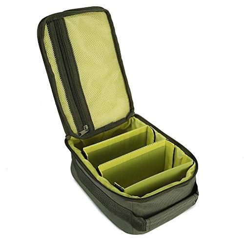 Weiy Angelrolle Tasche Oxford Stoff Tasche Tragbare Outdoor Angelrolle Tasche Tragen Lagerung Angelgerät Taschen