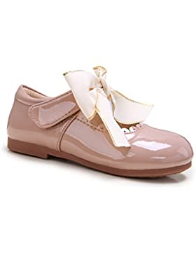 Pettigirl Niña Bowknot Plana Princesa Antideslizante Zapatos