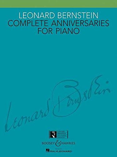 Leonard Bernstein: Complete Anniversaries for Piano