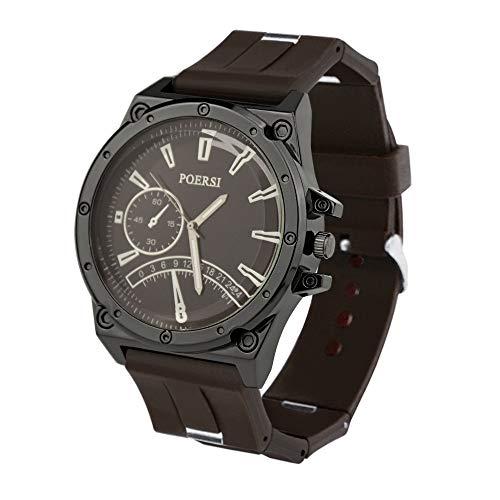 Unisex Armbanduhr,Alaso Mode Trend Persönlichkeit Uhr Silicone Strap Quartz Casual für Herren Damen
