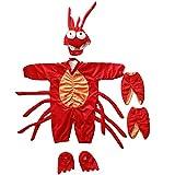 IPOTCH Disfraces de Halloween Animal Traje Juguetes Blandos de Entrenamiento Decor - langosta, 12-18 meses