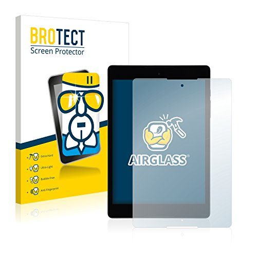 BROTECT Panzerglas Schutzfolie kompatibel mit HTC Nexus 9 - Flexibles Airglass, 9H Härte