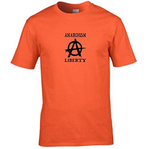 S Tees -  T-shirt - Collo a U  - Maniche corte - Uomo Arancione
