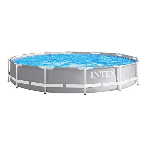 Intex 26710NP Abnehmbarer runder Pool mit Filter, 366 x 76 cm