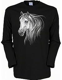 auf großhandel elegantes und robustes Paket Genieße am niedrigsten Preis Suchergebnis auf Amazon.de für: Pullover Pferdemotiv: Bekleidung