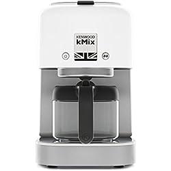 Kenwood Cafetière kMix cox750wh, blanc, 1200W, nouvelle série, Cafetière Filtre, pour 6Tasses (750ml)
