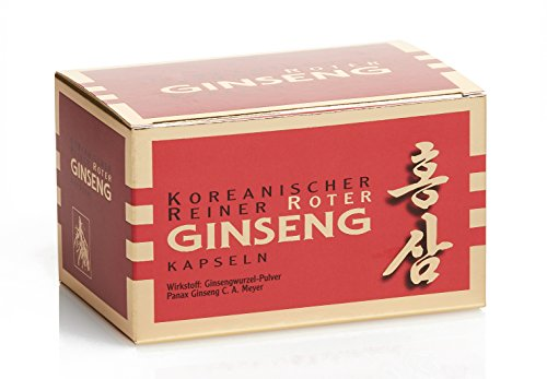 Koreanischer Reiner Roter Ginseng - 200 Kapseln; freiverkäufliches Arzneimittel