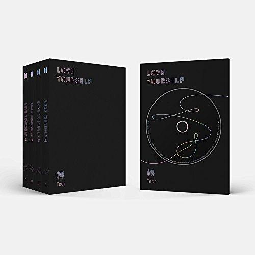 BTS - LOVE YOURSELF 轉 Tear [Random ver.] (Vol.3) CD+Photobook+Mini Book+Photocard+Standing Photo+Folded Poster+4 Extra Photocards