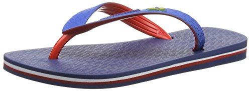IpanemaBrazil Bicolor Unisex - Infradito Unisex - Adulto , Multicolore (Mehrfarbig (blue red 8175)), 43/44