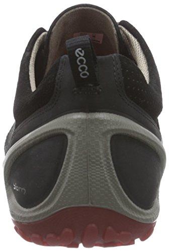 Ecco ECCO BIOM LITE Herren Outdoor Fitnessschuhe Schwarz (BLACK/TOMATO 50857)