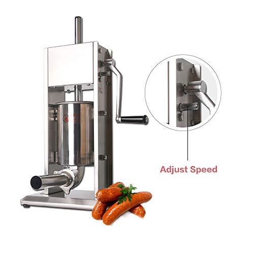 MOKLXCVBM Herramientas de Cocina 3L /5L /7L Relleno de Salchichas máquina de llenado Manual de Relleno Comercial y homeuse hemito de Salchicha,5L