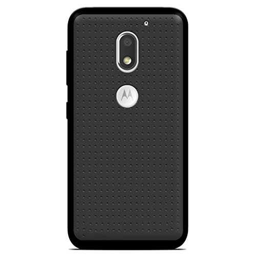 CareFone Motorola Moto E3 Power Back Cover, Ultra Thin Black Soft Gel TPU Silicone Case Cover For Motorola Moto E3 Power