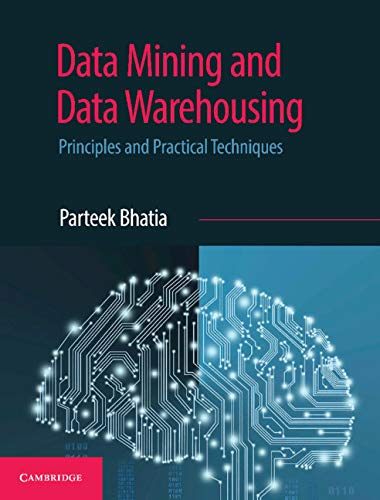 Data Mining and Data Warehousing: Principles and Practical Techniques