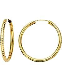 orecchini ad anello oro