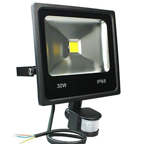 Avec Projecteurs Lampe Pir Blanc Chaud Led 30w Rpgt Lumière Mince FKJlTc1