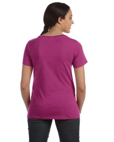 Anvil Damen T-Shirt Raspberry
