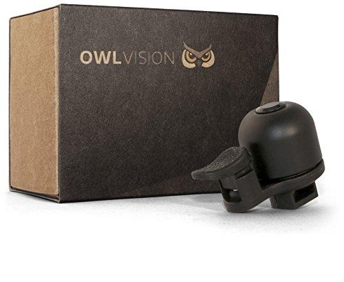OWL VISION Fahrradklingel Hoot - Perform (black/schwarz)