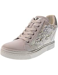 Da Donna Scarpe Guess Bianche Amazon it Zeppe wYvUnpH