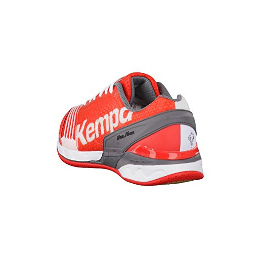 Kempa Statement Attack Pro, Chaussures de Handball mixte adulte Rouge