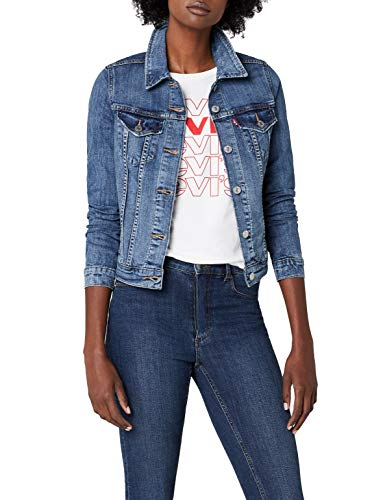 Levi's Damen Jeansjacke ORIGINAL Trucker, Blau (Chronicles 0020), Medium