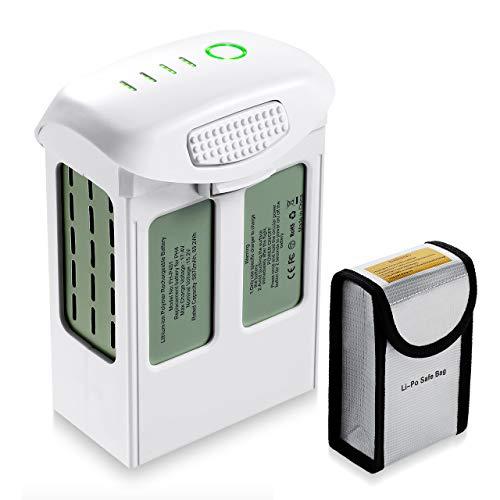 Powerextra 5870mAh Li-Polymer Ersatzakku(15,2 V) für DJI Phantom 4 Pro +, Phantom 4 Pro, Phantom 4 Advanced, Phantom 4