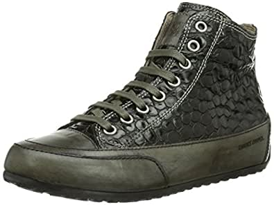 Candice Cooper plus.zip.cocco.opaco, Damen Hohe Sneakers - Schwarz (nero), 42 EU (8 Damen UK)